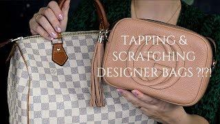 ????ASMR Tapping & Scratching Luxury Leather Bags / NO TALKING