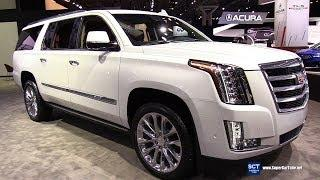 2019 Cadillac Escalade Premium Luxury - Exterior Interior Walkaround - 2019 New York Auto Show