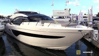 2019 Princess S78 Luxury Yacht - Deck and Interior Walkaround - 2018 Fort Lauderdale Boat Show