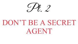 THE NEW REALTOR PT. 2   DON'T BE A SECRET   Tiffanie T.