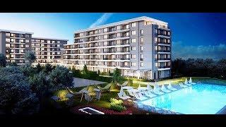 """apartments for sale in a new luxury complex with swimming pool """"Lagera"""" district of Sofia"""