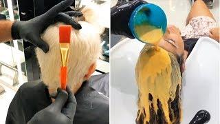 Amazing SUMMER Haircut and Color Transformations by Mounir 2018