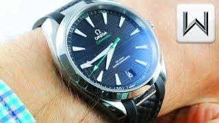 Omega Seamaster Aqua Terra (Sergio Garcia) Golf Edition 220.12.41.21.01.002 Luxury Watch Review