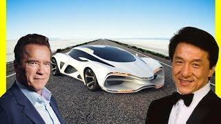Arnold Schwarzenegger's Cars Vs Jackie Chan's Cars $12000000 Luxury Lifestyle 2018