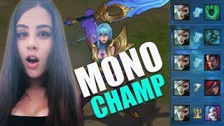 SER MONO CHAMP É BOM ?! - TOP 15 MONO CHAMP LEAGUE OF LEGENDS