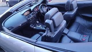 BMW e64 635d 350KM film do sprzedaży auta
