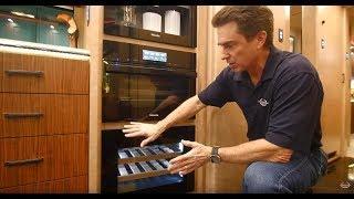 The Luxury RV Kitchen Dream Center from Marathon Coach