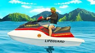 LIFE OF A LIFEGUARD IN GTA RP