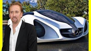 Nicolas Cage $72000000 Cars Collection / Yacht & Jet Luxury Lifestyle 2018