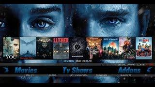 BEST KODI 18 BUILD EVER!!! JANUARY 2019 ???? BLUE MAGIC BUILD ???? FROM LUXURY WIZARD