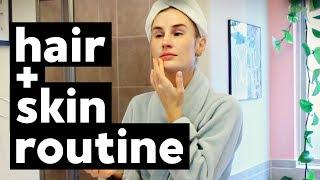FALL NIGHT ROUTINE | LUXURY HAIRCARE + SKINCARE | Clean Beauty