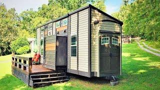 Beautiful The Turn Key Luxury Tiny House on Wheels | Lovely Tiny House