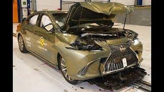 2019 Lexus ES - CRASH TEST (Very Safe Luxury Sedan)