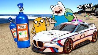550KM/h! Finn si Jake vs BMW Nou Nelansat ! Real Life
