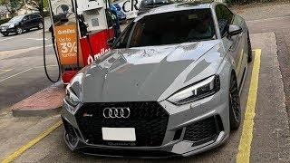 Gorgeous Audi RS5 Coupè 2018 in Nardo Grey by Optima Cars