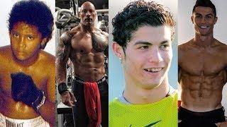 The Rock vs Cristiano Ronaldo Transformation 2019