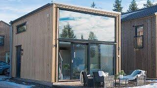 Stunning Modern Luxury Nordic-Style Cottage Tiny Home w/ High-End Kitchen Appliances & Loft Bedroom