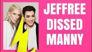 JEFFREE STAR DISSES MANNY MUA AGAIN