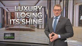 Luxury loses its shine