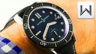 Ulysse Nardin Diver Le Locle Vintage Tribute Dive Watch 3203-950 Luxury Watch Review