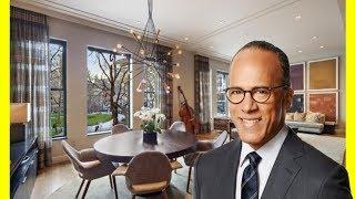 Lester Holt House Tour $6400000 Manhattan Luxury Lifestyle 2018