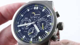 IWC GST Perpetual Calendar Chronograph IW3756-03 Luxury Watch Review