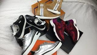 Luxury Sneaker Haul Ft Hermes Polo, Chanel Sneakers, Louis Vuitton Fall 2018