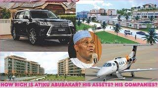 How Rich is Atiku Abubakar? ► All Atiku's Private Jets, Mansion, Cars, Companies & Luxuries