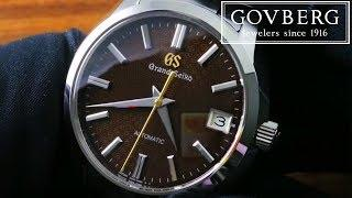 Grand Seiko 9S Automatic SBGR311 20th Anniversary Limited Edition Luxury Watch Review