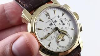 Vacheron Constantin Malte Perpetual Calendar Chronograph 47112/000J-8913 Luxury Watch Review