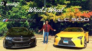 WHEEL 2 WHEEL | BMW M850i vs Lexus LC 500 - Halo Wars