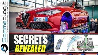 The SECRETS of Alfa Romeo Driving Eynamics - EXPLAINED REVIEW