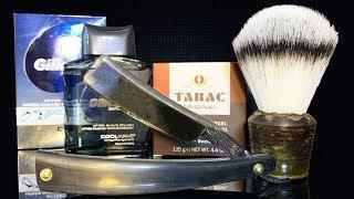 ???? Опасная Бритва: Wade & Butcher, Tabac Luxury Soap, Gillette After Shave Splash Cool Wave