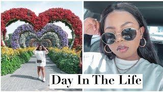 Day In The Life Vlog : Fun At Dubai Miracle Garden + Luxury Shopping