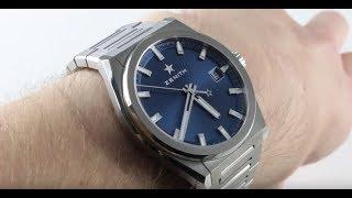 2018 Zenith Defy Classic 95.9000.670/51.M9000 Luxury Watch Review