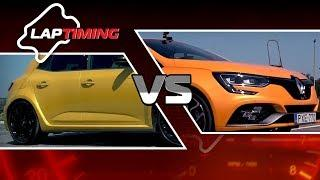 Optikai csalódás. Renault Megane RS EDC vs. Renault Megane RS (LapTiming ep. 41)