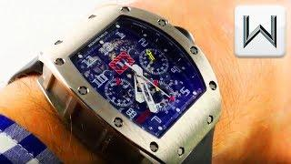 RICHARD MILLE RM 011 Felipe Massa Flyback Chronograph (RM011 AH WG) Luxury Watch Review
