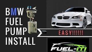Low Pressure Fuel pump Install bmw n54 335i (FUEL-IT)