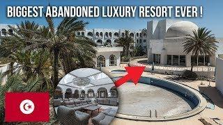 Biggest abandoned Luxury Resort ever.