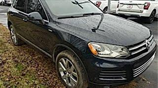 Used 2014 Volkswagen Touareg Mt Pleasant TX Sulphur Springs, TX #F6931A