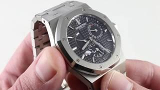 Audemars Piguet Royal Oak Dual Time 26120ST.OO.1220ST.03 Luxury Watch Review