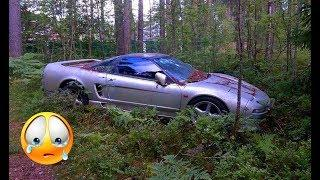 60 Abandoned Supercars and Luxury cars around the World 2018 Part.50 - Ferrari Lamborghini Nsx Rolls