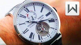 Ulysse Nardin Marine Tourbillon Enamel Grand Feu (1283-181/E0) Luxury Watch Review