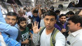 Buying Luxury Train Ticket - World's Busiest Railway (Poor vs Rich)- Social Experiment | TamashaBera