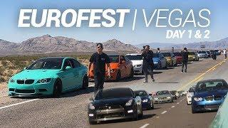 RACING FROM LA TO VEGAS!! EUROFEST 2018!