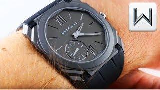 BULGARI OCTO FINISSIMO REVOLUTION MAGAZINE Titanium 102764 Luxury Watch Review