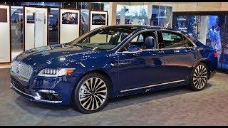 2018 Lincoln Continental Black Label  Review  - A Luxury Sedan no one talks about