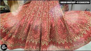 Ibaadat Premium Luxury Bridal Lehenga by SHASHA