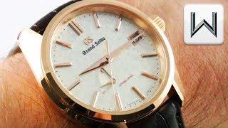 Grand Seiko Spring Drive USA Edition (SBGA384) Luxury Watch Review
