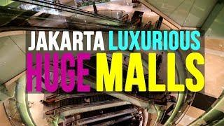 Jakarta's INSANE super LUXURY malls Grand Indonesia mall & Plaza Indonesia mall